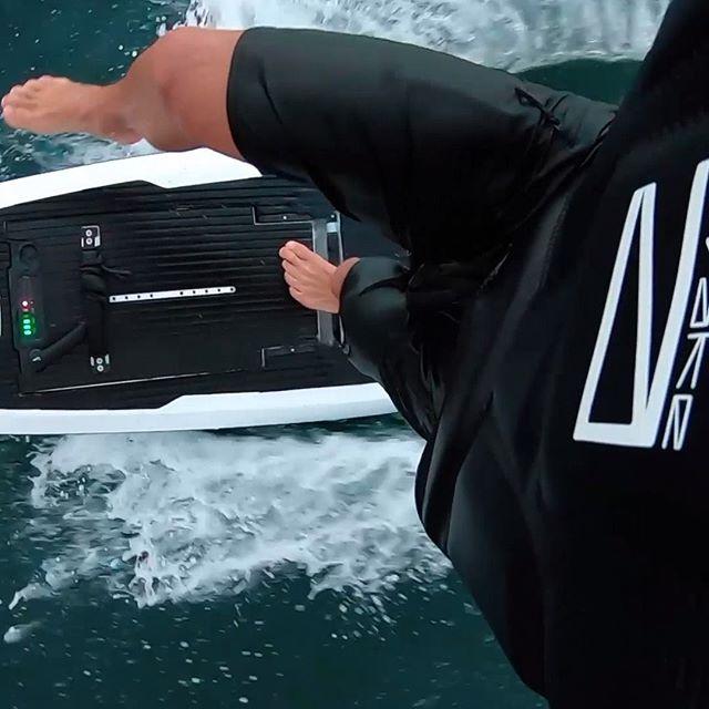 awake electric surfboard